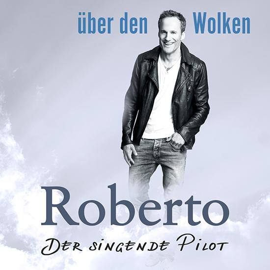 Roberto über den Wolken